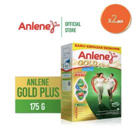 Anlene Gold Plus Vanilla 175gr x 2pcs - Susu Bubuk