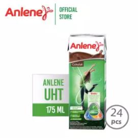 Anlene UHT Cokelat 175 ml - Susu Cair Siap Minum - Nutrisi Tulang, Sendi & Otot [1 Karton]