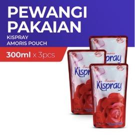 Kispray Refill Pouch Amoris 300 ml - 3 pcs