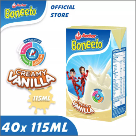 Boneeto UHT Vanilla 115ml (1 CT = 40 Pcs)