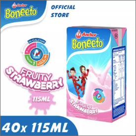Boneeto UHT Strawberry 115ml (1 CT = 40 Pcs)