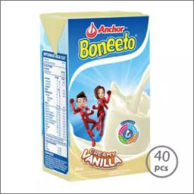 Boneeto UHT Vanilla 115ml [1 Karton-40pcs]