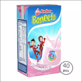 Boneeto UHT Strawberry 115ml [1 Karton-40pcs]