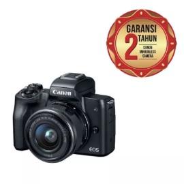 Canon EOS M50 Kit 15-45mm Kamera Mirrorless - Black