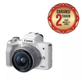 Canon EOS M50 Kit 15-45mm Kamera Mirrorless - White