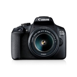 Canon Digital Camera EOS 1500D with lens 18-55mm IS II Black