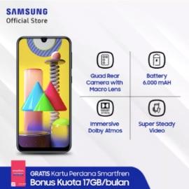 Samsung Galaxy M31 - Baterai 6000 Mah - Memory 6GB/128GB - Quad Rear Camera 64 MP