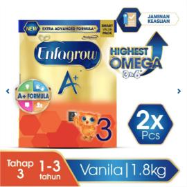 Enfagrow A+ 3 Susu Vanila Box - 1800 g (2x1800g)