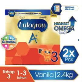 Enfagrow A+ 3 Susu Vanila Box - 2400 g (2x2400g)