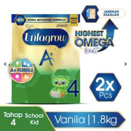 Enfagrow A+ 4 Susu Vanila Box - 1800 g (2x1800g)