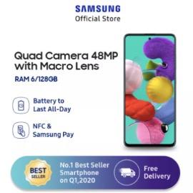 Samsung Galaxy A51 - Ram 6/128 GB - Kamera 48MP - Octa core