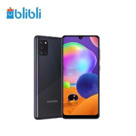 Samsung Galaxy A31 [128 GB/ 6 GB] Black + Powerbank 10.000 mAh