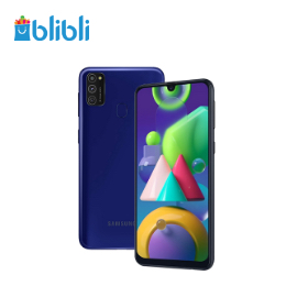 Samsung Galaxy M21 [4 GB/ 64 GB] Blue + XL 108GB